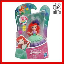 Ariel Mini Figure Disney Princess Little Kingdom Small Mermaid Toy Snap-In Doll