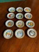 Franklin Mint The Best Loved Fairy Tales Mini Plate Collection Signature Edition