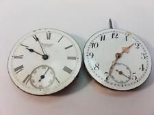 Lot of 2 Antique  Pocket  watch movement Waltham  1889