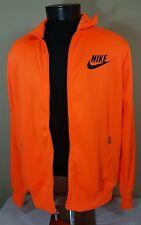 Nike Jacket Sportswear Track Men's XL Neon Orange Team Swoosh Flight