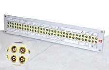 DELTA SYSTEM AF28 AUDIO STECKFELD MIT 64 LEMO TRIAX STECKVERBINDERN #I158