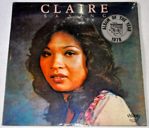 Philippines CLAIRE Sayang OPM LP Record