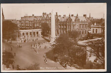 Lancashire Postcard - War Memorial, Southport   RS4878