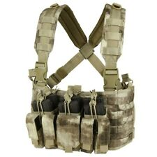 A-TACS MCR5 Military Recon Tactical Kangaroo Mag Pouch Chest Rig Duty Gear SWAT