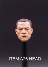Custom 1/6 Scale Jean-Claude Van Damme Head Sculpt for Hot Toys Body In Stock