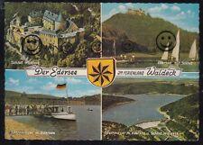 882o) AK Waldeck il Edersee Edersee con diga & Castello Waldeck