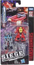 Transformers guerra por Cybertron asedio Micromasters patrulla de coche de carrera nuevo en la acción