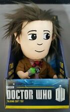 1 NEW Doctor Who Talking Soft Toy with Light Up Sonic Screwdriver