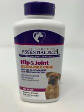 Essential Pet Hip & Joint Ultra-Max Care Adult Dogs 120 chewables 8/20
