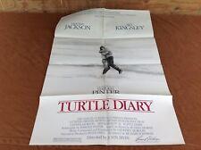 1986 Turtle Diary Original Movie House Full Sheet Poster