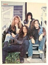 Badlands / Jake E. Lee / Ray Gillen / Magazine Full Page Pinup Poster Clipping 2