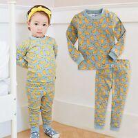 "Vaenait Baby Infant Toddler Kids Girls Clothes Pajama Set ""Sweet Bunny"" 12M-7T"