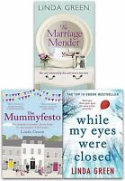 Linda Green Collection 3 Books Set While My Eyes Were Close, The Marriage Mender