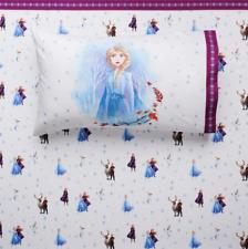 New Disney's Frozen 2 Microfiber Twin Sheet Set Elsa Anna Brushed for Softness