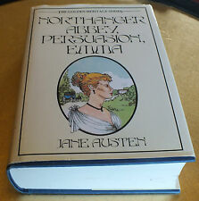 Northanger Abbey, Persuasion and  Emma by Jane Austen Hardback with DJ 1988
