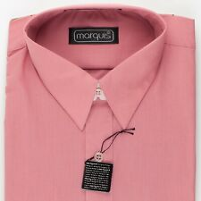 """Light Red 15 1/2"""" New Old Stock Dress Shirt by Marquis"""