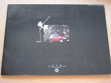 BROCHURE LANCIA Y10 dal 1989 IN FOLDER GTie LXie Fire CARTELLA COLORI