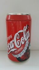 "COCA COLA Bank Tin 8"" inches tall Classic Coke Can"