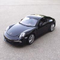 Rastar 1:24 Porsche 911 Carrera S Alloy Sports Car Model Boys Toys Display