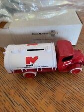 Vintage 1970s 80s ERTL 1926 Mack Bull Dog Merit Tanker Truck Bank 9980 MIB