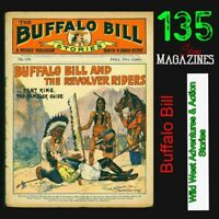 Buffalo Bill Stories | Far west Action Adventures | 135 Magazines