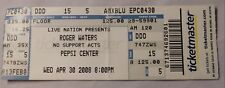 Roger Waters April 30, 2008 Original Concert Ticket Stub Pepsi Center Denver Co