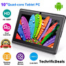 """10.1"""" Inch ELITE Tablet PC Android Quad Core 16GB/32GB HD Dual Camera WiFi Gift"""