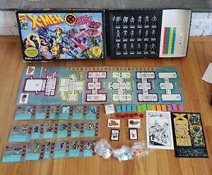 Vintage Marvel Comics X-Men Under Siege! Game Pressman 1994 *COMPLETE*w/COMIC