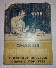 Werkstatthandbuch / Chassis Overhaul Manual Chevrolet Corvette Chevelle etc. '65