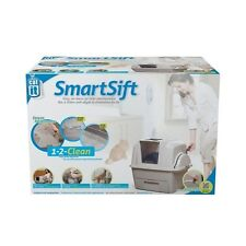 Catit Smartsift Autolimpiable para Gatos, Arenero Gato, Bandeja Higiénica Sanita