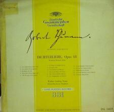 """Schumann(10"""" Vinyl)Dichterliebe Opus 48-Deutsche Grammophon-DG 16029-UK-VG+/NM"""
