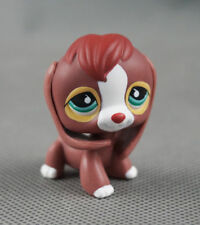 Littlest Pet Shop LPS366 Toys Puppy Green-Eyes Brown-Red-Beagle Dog
