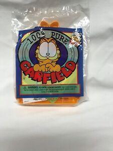 2000 Wendy's 100% Pure Garfield Kids Meal Plastic Toy Garfield NIP SEALED!