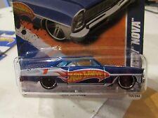 Hot Wheels '66 Chevy Nova Hw Racing Blue