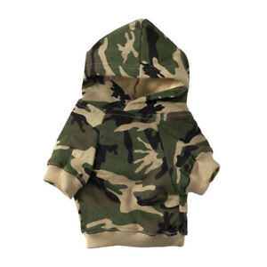 Casual Canine 24 Inch XXL Fleece Camouflage Dog Hoodie Blanket Cover, Green