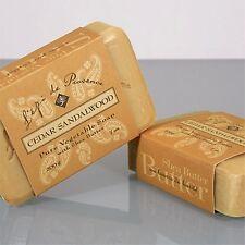 French Soap - Cedar Sandalwood - by L'epi de Provence - 200 gr. Bar - Nourishing