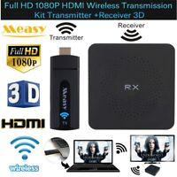 Measy HD 1080P 3D 60GHz Extender Wireless TV HDMI Video Receiver Transmitter Lot