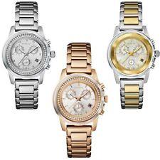 Orologio Cronografo Donna Breil Cassa Acciaio PVD Oro Rosa Bicolore Datario