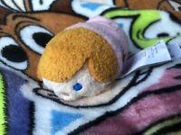 Z The Disney Store Tsum Tsum Mini Soft Toy Plush Peter Pan Michael Darling Rare