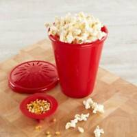 Silicone Microwave PopCorn Maker Popcorn Bucket Container Home Kitchen Baking