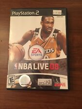 NBA Live 08 (Sony PlayStation 2, 2007)