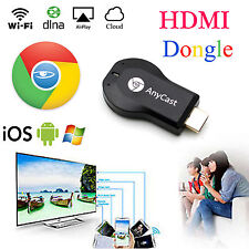 HDMI Video Media Streamer Google Chrome Cast Dongle For iPhones iPad Smart TV