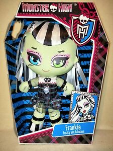 Monster High Frankie Stein - Plush Toy 2013 BNIB. FOR THE SUPER FAN COLLLECTOR!