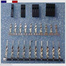 Connecteur Dupont arduino Male / Femelle 1P 2P 3P 4P 5P 6P 8P 10P - Par lots