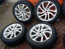 "2016 GENUINE LAND RANGE ROVER DISCOVERY ALLOY WHEELS TYRES 20"" 511 LANDMARK HSE"