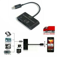 External USB Memory Card Reader for SAMSUNG Android Phones TF/SDHC/SD- Card USA