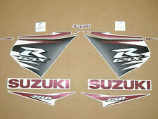GSX-R 750 2011-2012 complete decals stickers graphics kit set l1 l2 autocollants