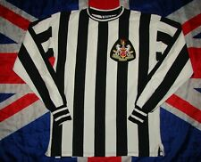 Newcastle United Home 1970 1972 Football Shirt Jersey Score Draw Replica Size M