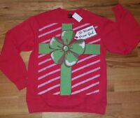 Mad Engine To Women from God Mens Red Christmas Ugly Sweater Sweatshirt Sz 3XL
