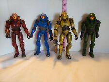 Joyride 2003 Halo Action Figures mixed Lot 4 Figures, 1 Weapon